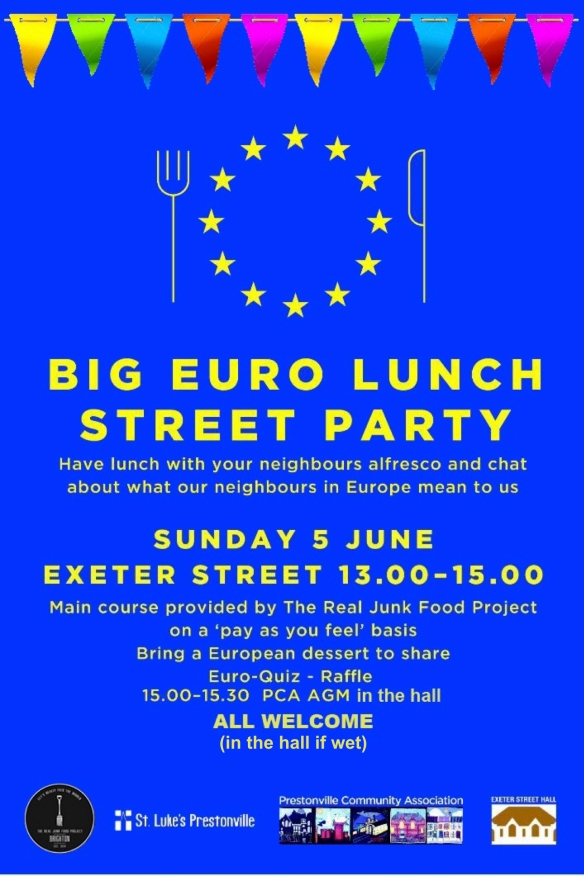 Big Euro Lunch poster 2